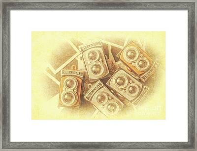 Vintage Photographer Film Art Framed Print by Jorgo Photography - Wall Art Gallery
