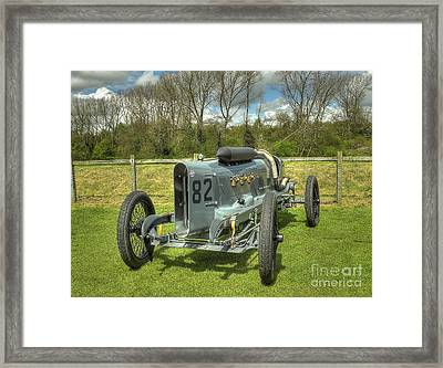 Vintage Racing Car - The 1918 Mitchell Framed Print by Catchavista