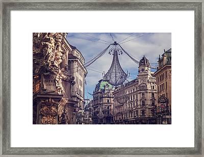 Vintage Vienna Framed Print by Carol Japp