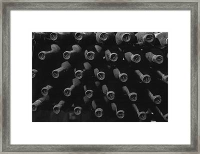 Vintage Wine Framed Print by Georgia Fowler