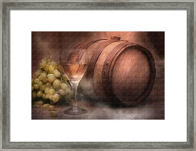 Vintage Wine Framed Print by Tom Mc Nemar