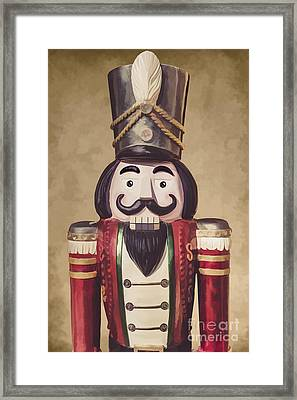 Vintage Wooden Toy Soldier Framed Print by Jorgo Photography - Wall Art Gallery