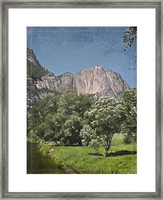 Vintage Yosemite Framed Print by Teresa Mucha