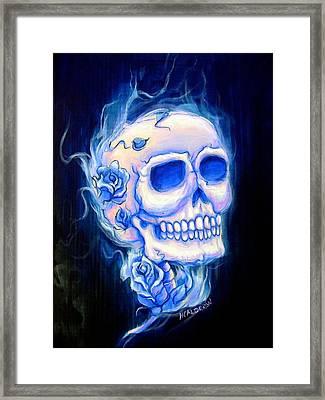 Violeta Framed Print by Heather Calderon