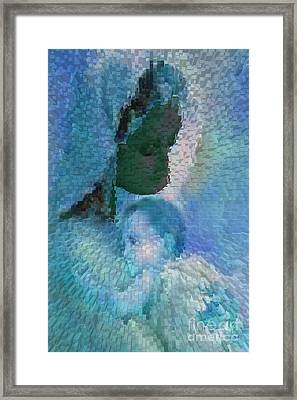 Virgen De Regla Joven Framed Print by Liz Loz