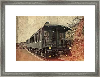 Virginia City Pullman Framed Print by Thom Zehrfeld