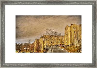 Virginia Military Institute Framed Print by Todd Hostetter