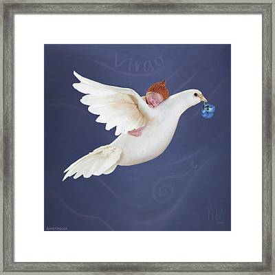 Virgo Framed Print by Anne Geddes
