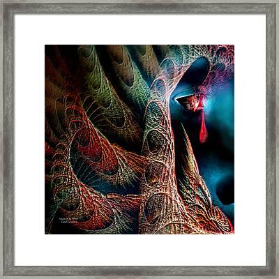 Vision Of An Artist Framed Print by Carol Cavalaris