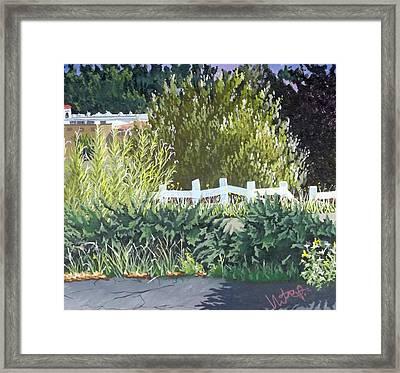 Vista California Framed Print by Hector Perez