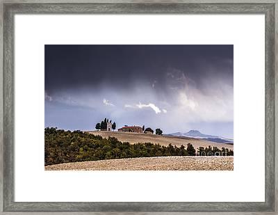 Vitaleta Chapel Framed Print by Yuri Santin