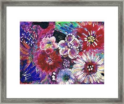 Viva Con Pasion Framed Print by Anne-Elizabeth Whiteway
