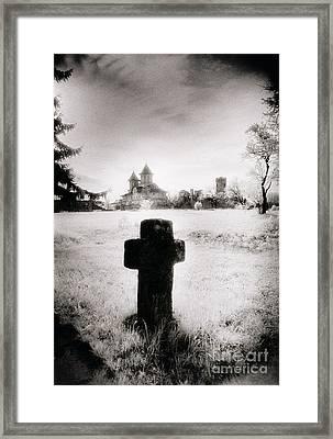Vlad Draculas Palace Framed Print by Simon Marsden