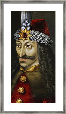 Vlad The Impaler Framed Print by Unknown