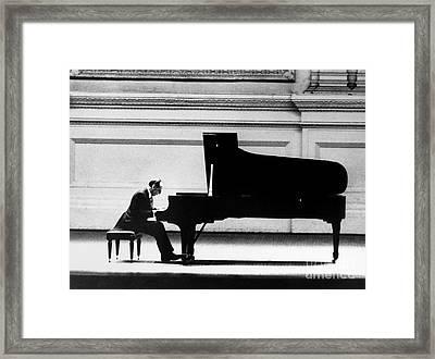 Vladimir Horowitz Framed Print by Granger