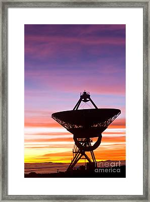 Vlba At Sunrise 2 Framed Print by David Nunuk