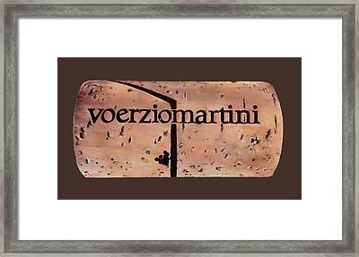 Voerziomartini Framed Print by Danka Weitzen