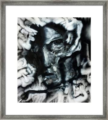 Void Framed Print by David H Frantz