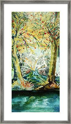 Volcano Framed Print by John Keaton