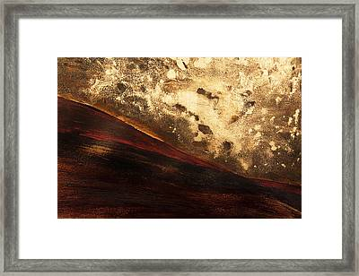 Volcano Sunrise Framed Print by Tara Thelen - Printscapes