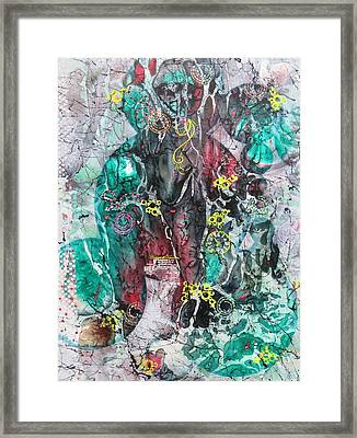 Voo Doo Magic Framed Print by David Raderstorf