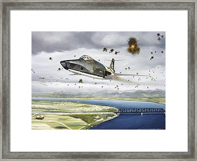 Voodoo Vs The Dragon Framed Print by Marc Stewart