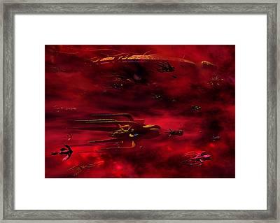Vorlon Fleet Framed Print by Joseph Soiza