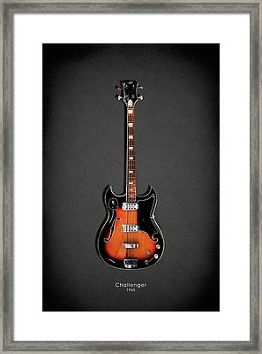 Vox Challenger Framed Print by Mark Rogan