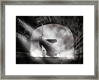 Voyage To Infamy Framed Print by Peter Chilelli