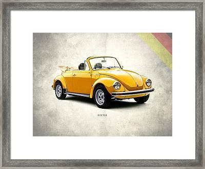 Vw Beetle 1972 Framed Print by Mark Rogan