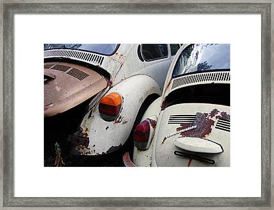 Vw Sisters Framed Print by Jame Hayes