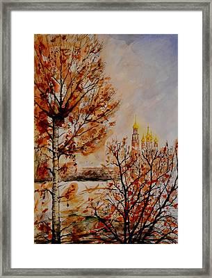 W 9 Moscow Framed Print by Dogan Soysal