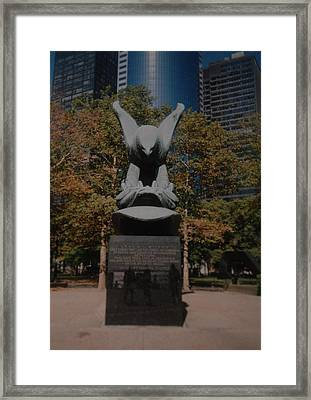 W W II Eagle Framed Print by Rob Hans