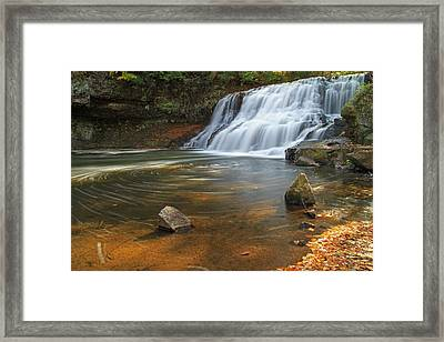 Wadsworth Falls Framed Print by David Freuthal