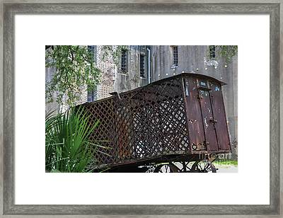 Jail House Wagon  Framed Print by Dale Powell