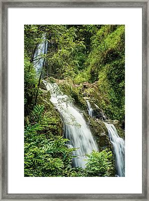 Waikani Framed Print by Kelley King