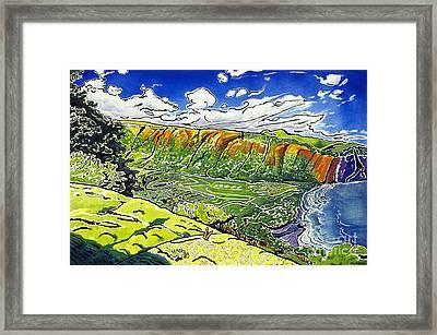 Waipio Valley Framed Print by Fay Biegun - Printscapes