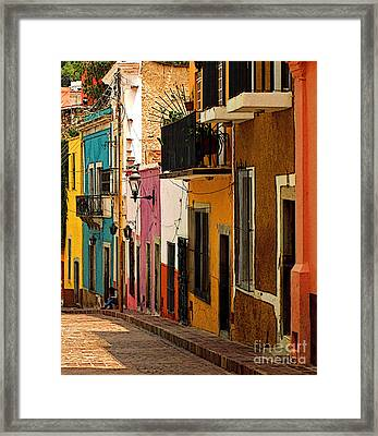 Waiting For Friends Framed Print by Mexicolors Art Photography