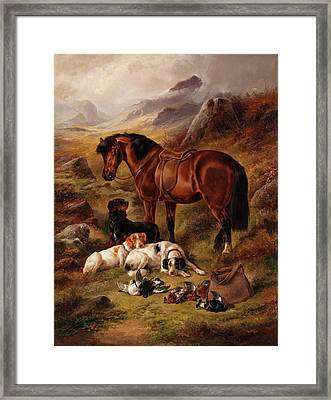 Waiting For Master Framed Print by John Gifford