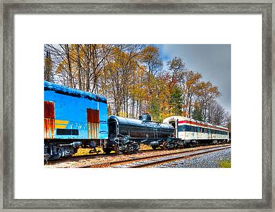 Waiting For Restoration Framed Print by David Patterson