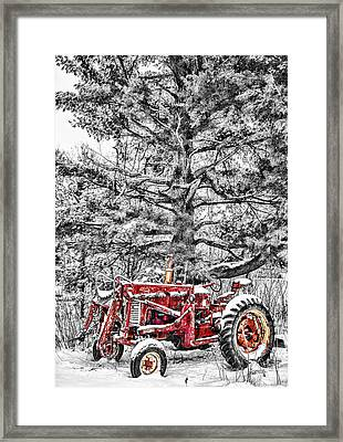 Waiting For Spring Framed Print by Paul Freidlund