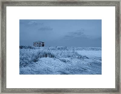 Waiting For Summer - Jersey Shore Framed Print by Angie Tirado