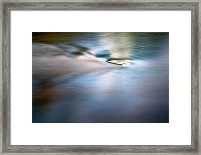 Waiting For The River Framed Print by Scott Norris