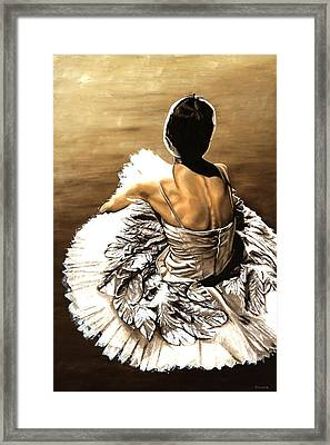 Waiting In The Wings Framed Print by Richard Young