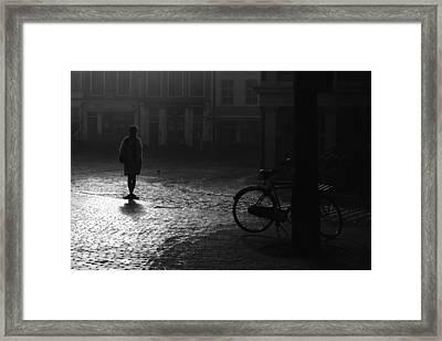 Waiting.... Framed Print by Joke Scheerman