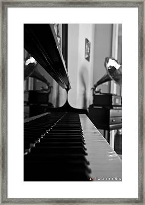 Waiting Framed Print by Jonathan Ellis Keys