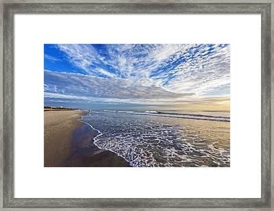 Walk Into Summer Framed Print by Debra and Dave Vanderlaan