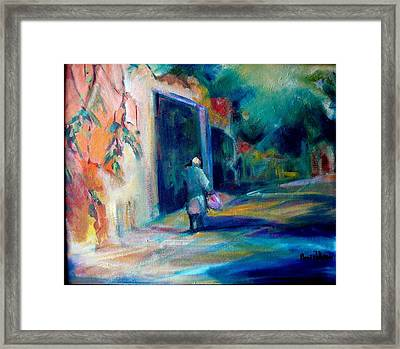Walking Home Framed Print by Pippi Johnson