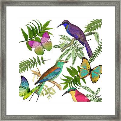 Walking On Air I Framed Print by Mindy Sommers