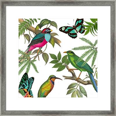 Walking On Air II Framed Print by Mindy Sommers